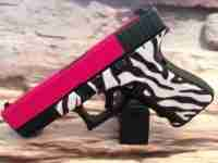 Hot Pink Slide / Zebra Frame