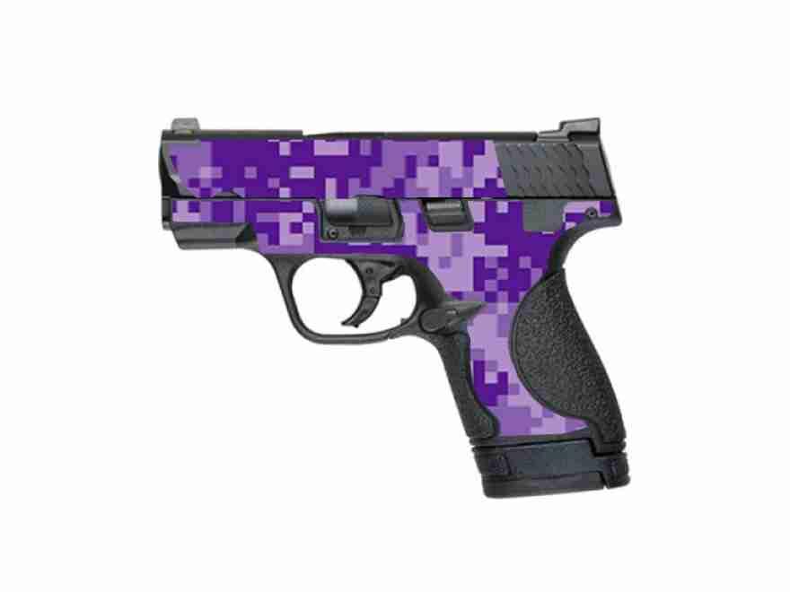 Sw Mp Shield Dark Purple Digital Camo High Caliber Graphix