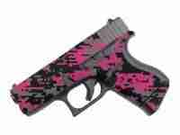 Pink & Black Digital Camo