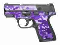 Purple Camo - Large
