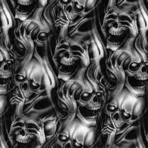 Gray Skulls