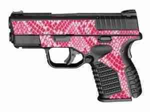 Pink Snake Skin