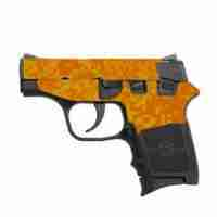Orange Digital Camo
