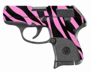 Pink and Black Zebra